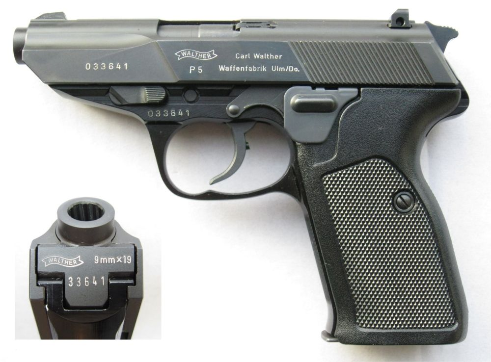 Walther P5 4th Variationloading That Magazine Is A Pain Get Your