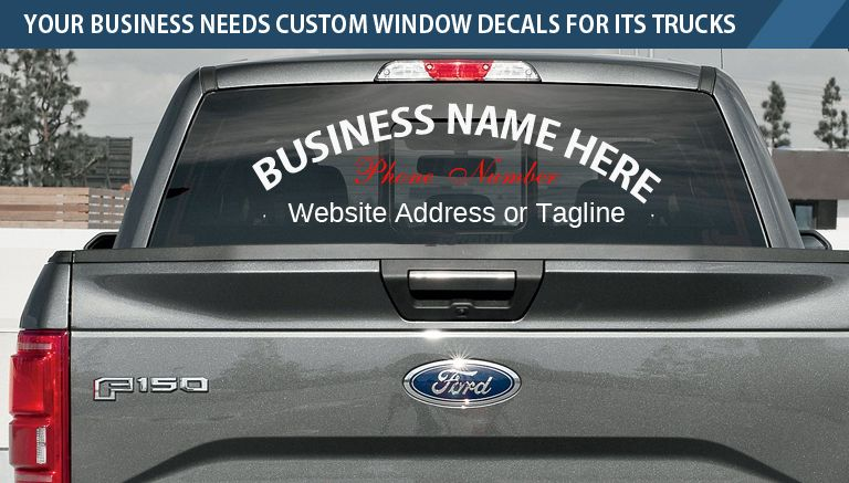 Custom Window Decals For Trucks Why Your Business Needs Them Custom Window Decals Window Decals Window Decals For Trucks