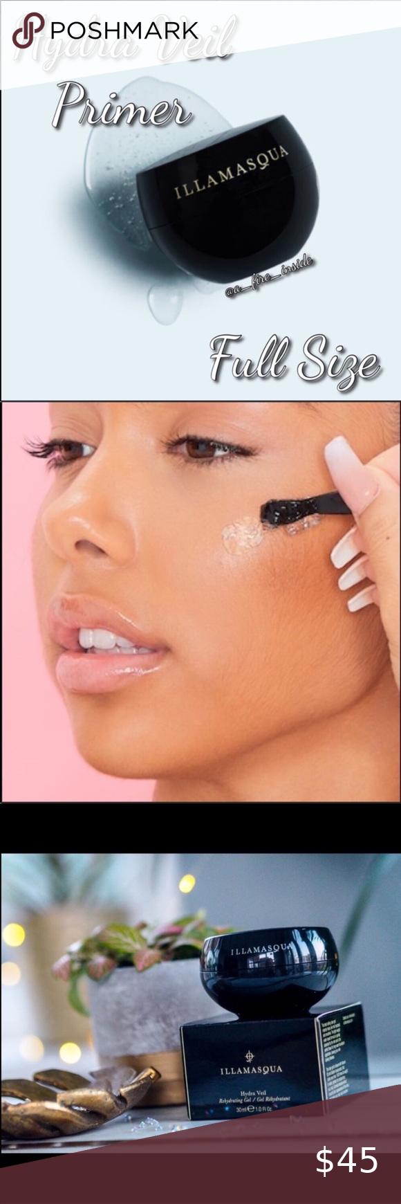 Illamasqua Hydra Veil Primer Full Size Vegan New In 2021 Illamasqua Hydra Veil Makeup Primer Cream Lipstick