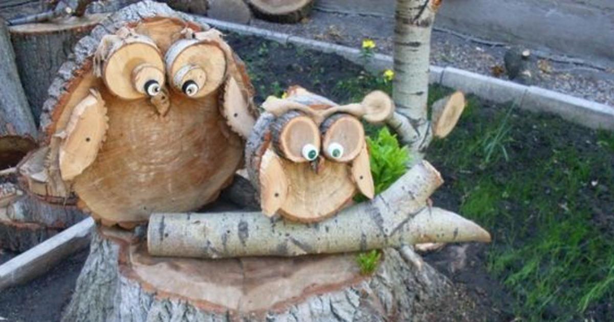 On Peut Tout Faire Avec Du Bois De Petites Decorations Jusqu A Des Meubles Vous Aimeriez Travailler Le Bois Com Projets Simples Idee Bricolage Facile Rondin