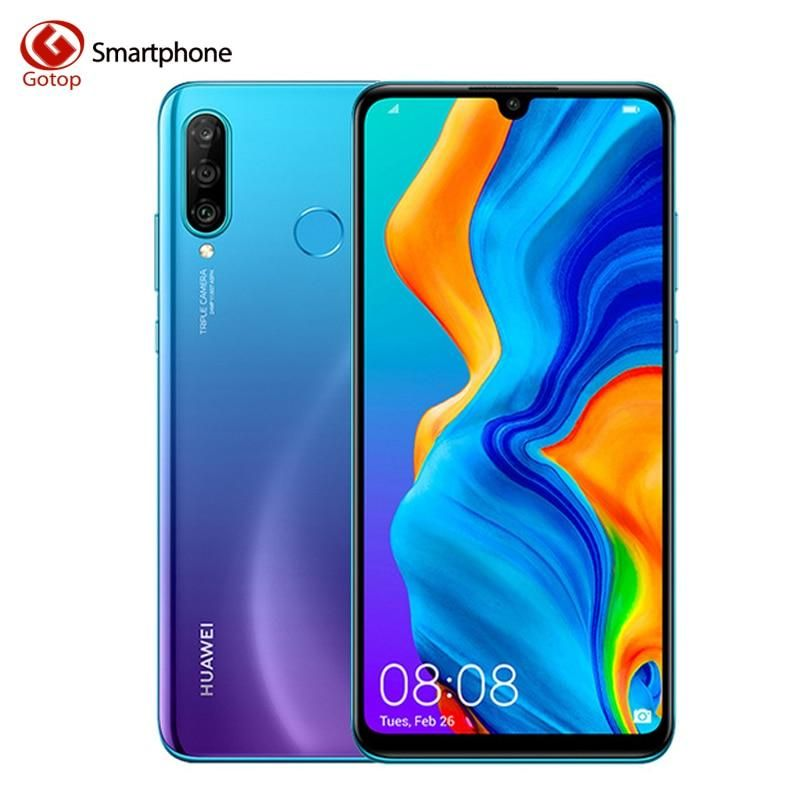 Global Huawei P30 Lite Nova 4e Smartphone Kirin 710 Octa Core