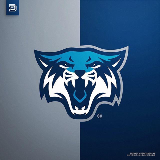 Pin Di Animal Mascot Logo