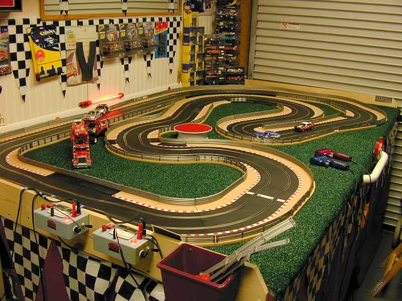 Building Of A Slot Car Tracks And By Mike Nyberg Slot Cars Src