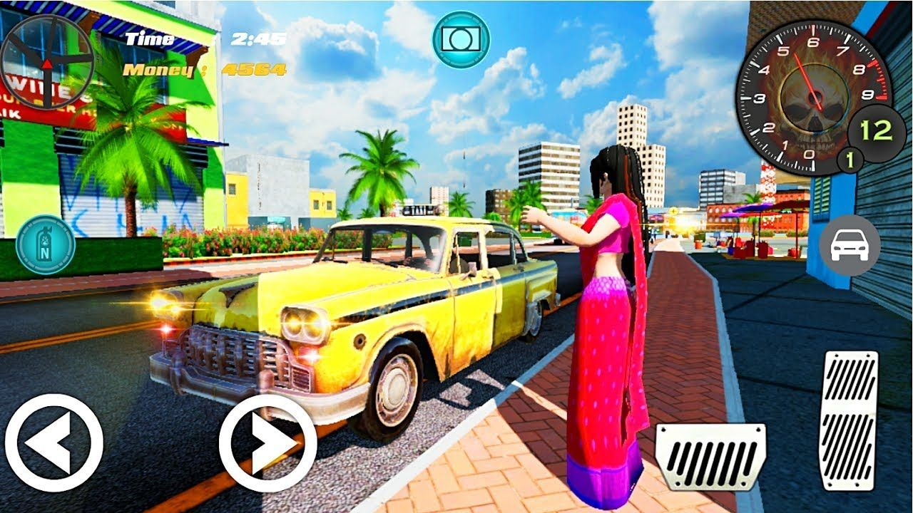 India Real Taxi India Driver Indian game Android Gameplay