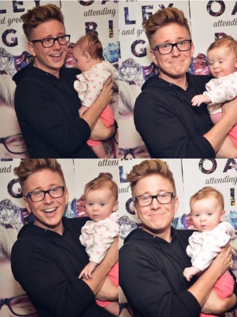 When A Baby Comes To Your Meet Greet But Your Book Is Not