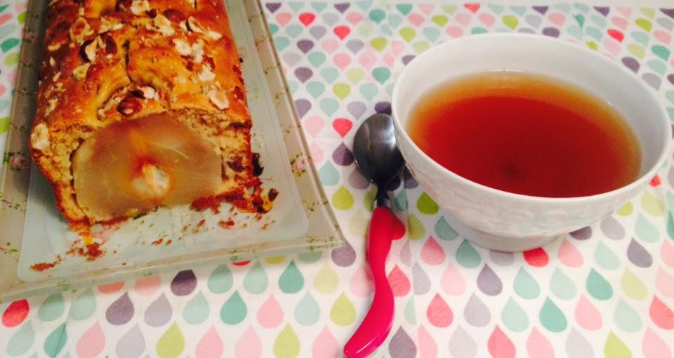 Cake aux poires, noisettes et sirop d'érable de Zabou s'éclate en cuisine