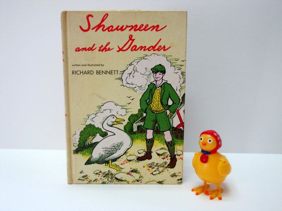 Vintage 1961 Shawneen and the Gander Childrens by madforvintage, $9.25