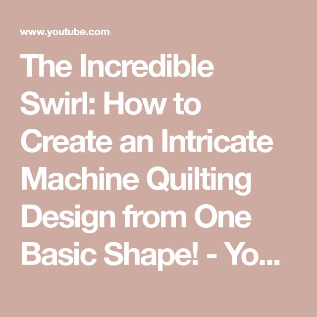 The Incredible Swirl: How To Create An Intricate Machine
