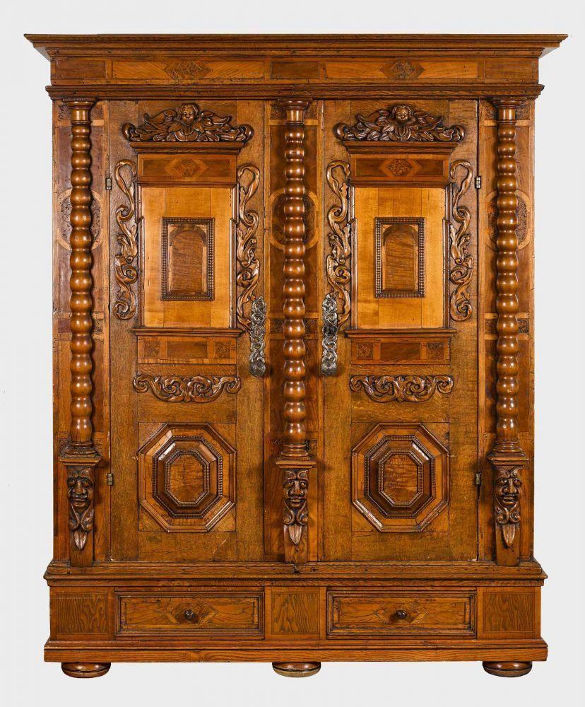 Möbel In Augsburg renaissance frühbarock fassadenschrank augsburg ulm oder elsass ca