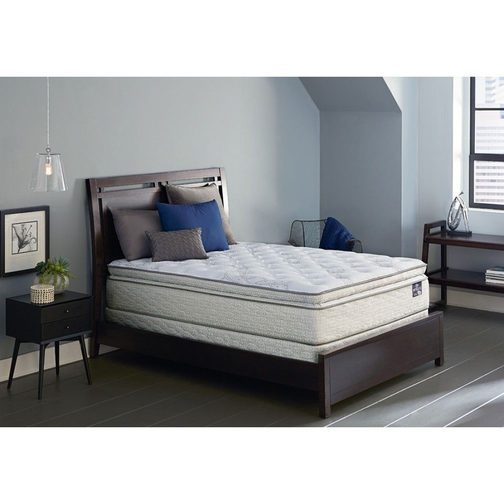 the deanfield super pillowtop is comfortable conforming pillowtop
