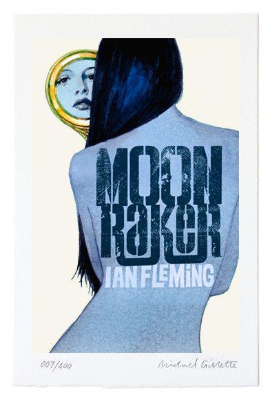 Moonraker James Bond by Michael Gillette