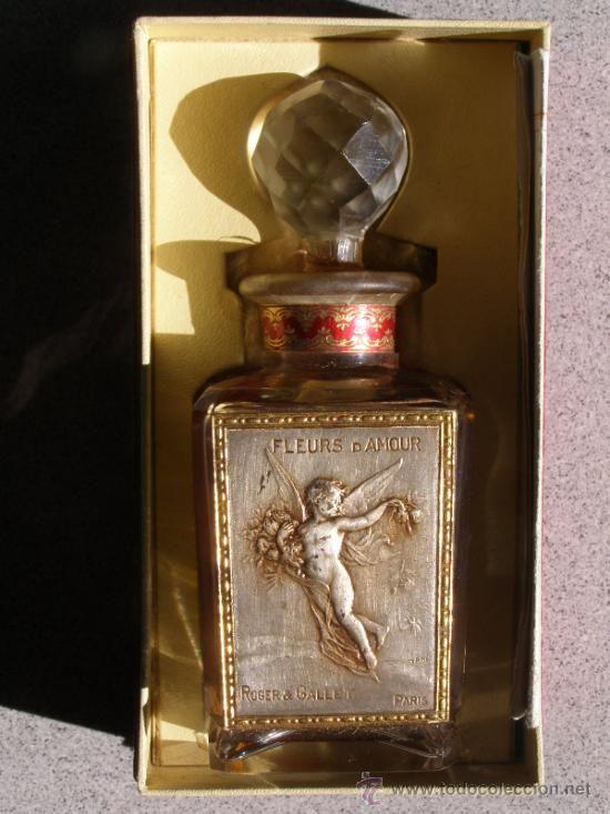 Roger Gallet Fleurs D Amour Art Nouveau 1920 Caja Con Bote Perfume