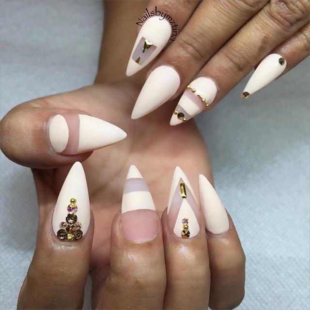 Stiletto nails @KortenStEiN   Nails   Pinterest   Diseños de uñas ...