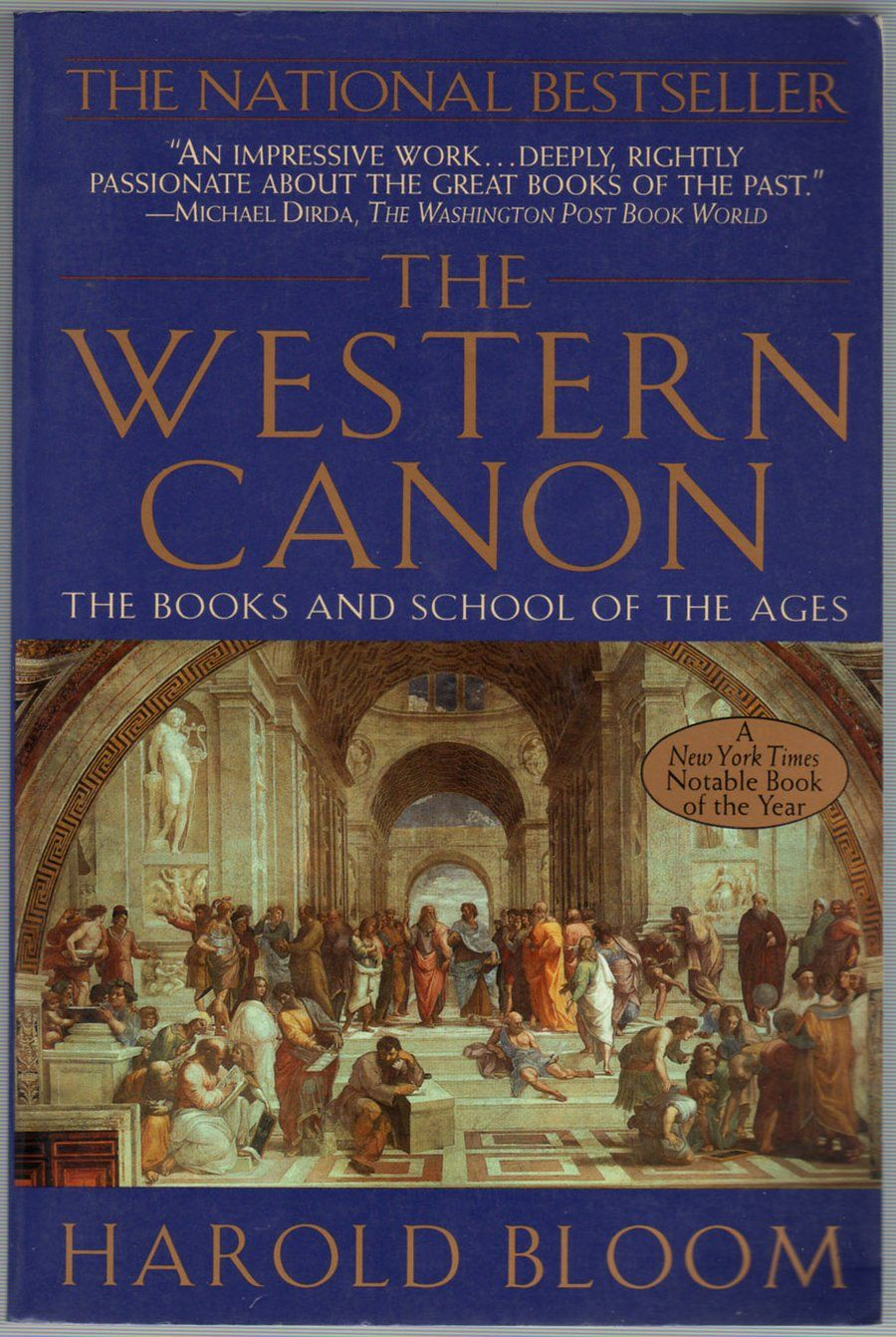 Image result for harold bloom western canon