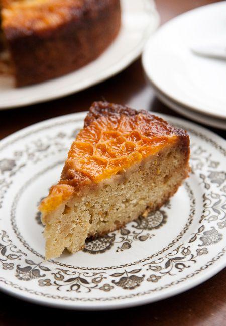 Caramel Orange Cake