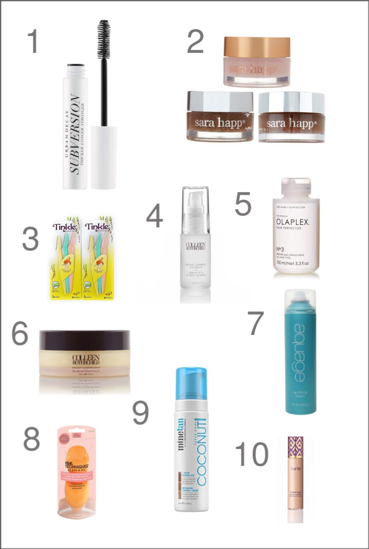 2018 Favorite Things Skincare Beauty Secrets Cyndi Spivey Beauty Favorites