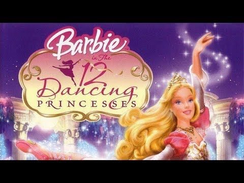 Barbie A Fashion Fairytale In Hindi Youtube 12 Dancing Princesses Barbie Cartoon Barbie 12 Dancing Princesses