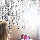 photo booth wall