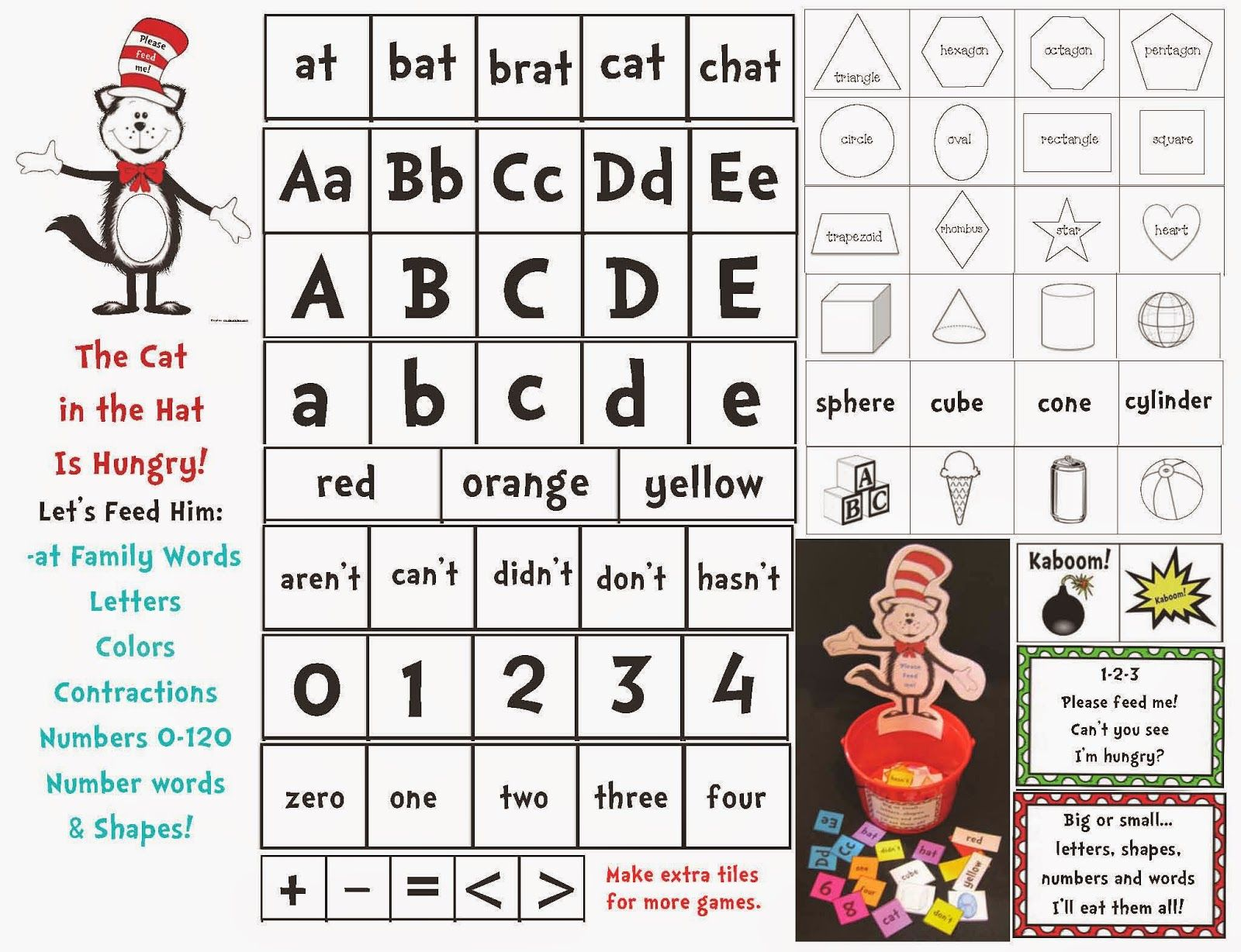 Feed The Cat In The Hat Game With Images