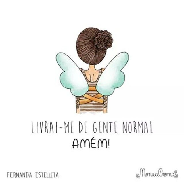Hoje a frase é com a querida @fernandaestellitaoficial ♥ #monicacrema #ilustração #fernandaestellita