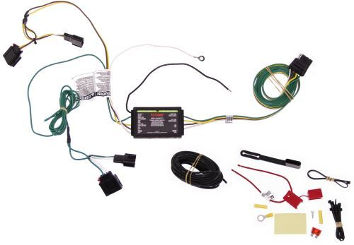 Curt T-Connector Vehicle Wiring Harness with 4-Pole Flat ... on jeep patriot hitch kit, jeep grand cherokee trailer wiring harness, jeep wrangler trailer wiring harness, jeep patriot trailer wiring kits,