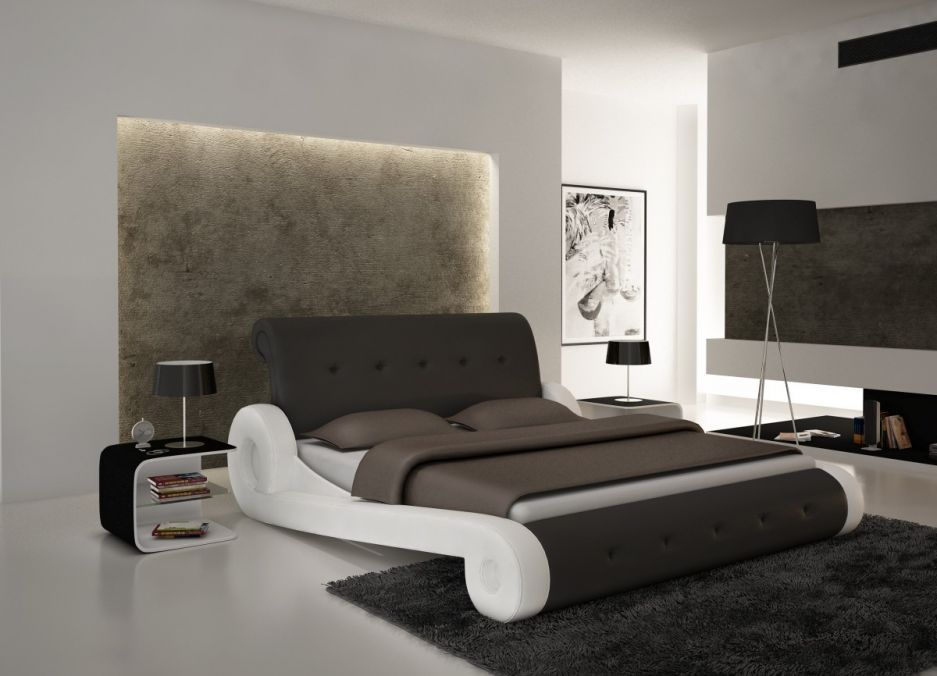 Bedroom Contemporary Bed Frames With Majestic Designs