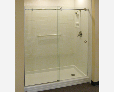 frameless express impey in enclosures bathroom main showers acatalog door sliding enclosure shower installation doors walk from