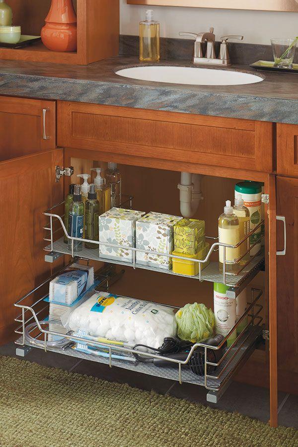 Put This Under The Kitchen Sink To Increase Storage