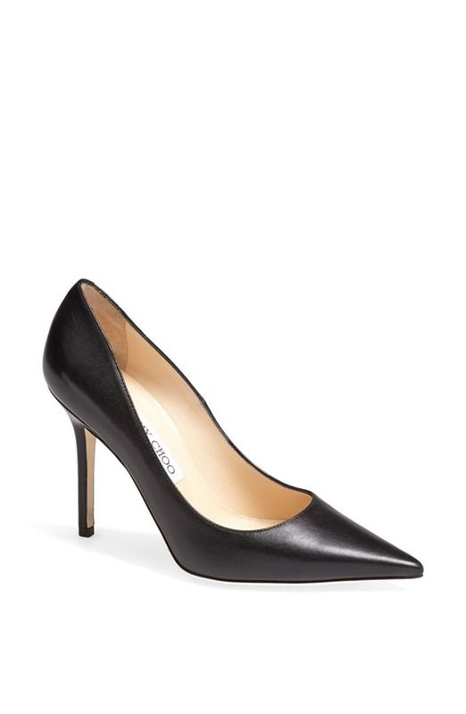 5ac4b85b130b The black pump is the answer to every outfit conundrum. What shoes go with  this