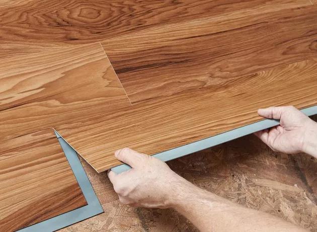 Pin On Bathroom, How To Install Vinyl Plank Flooring Over Ceramic Tile