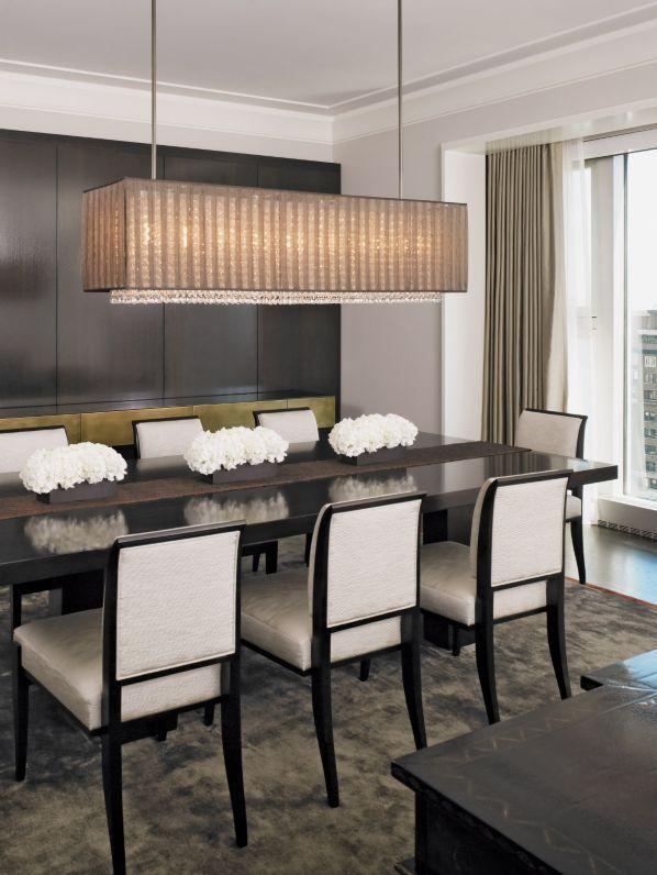 Gold List 2020 Designs By Sundown Rectangular Dining Room Light Dining Room Lighting Dining Room Table Centerpieces
