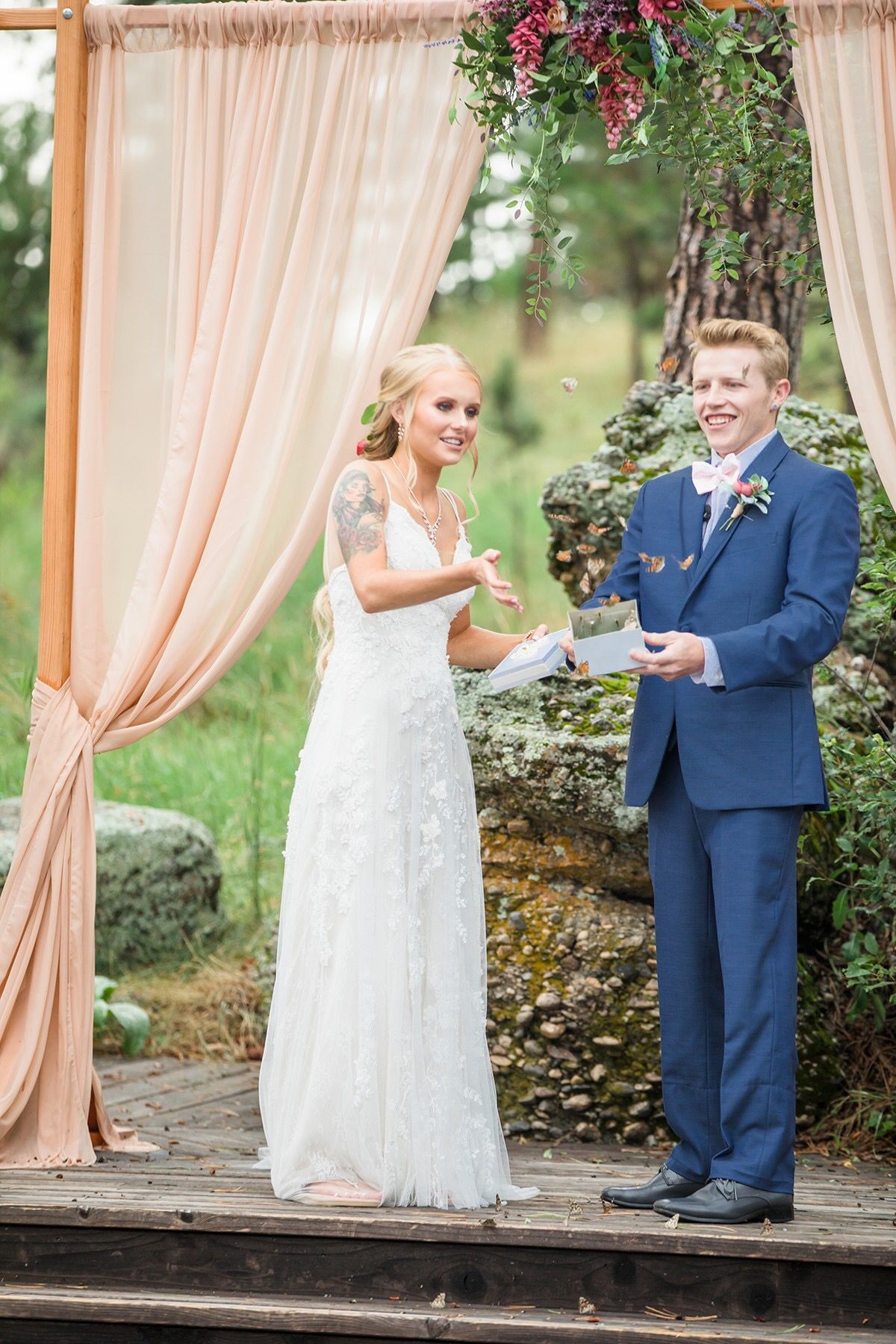Butterfly release in 2019 Wedding, Wedding venues