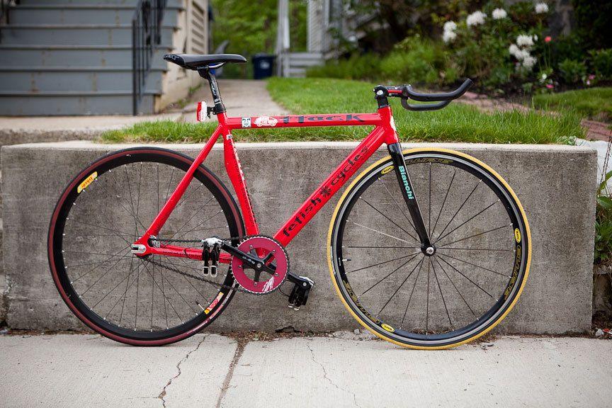 Fetish bicycle forks