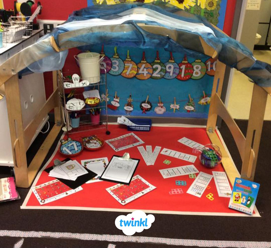 We Love This Christmas Inspired Maths Area. Download Our
