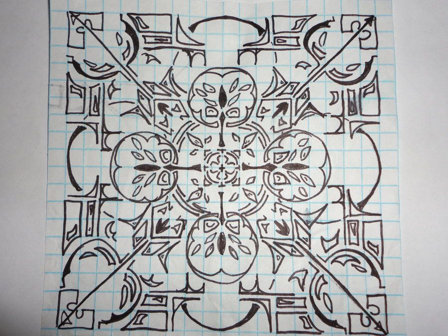 Cool graph paper designs grid art pinterest graph for Cool designs on paper
