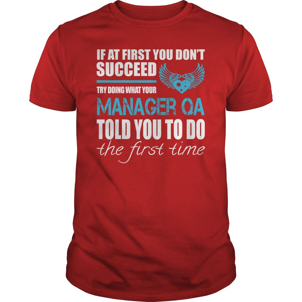 If At First You Dont Succeed Try Doing What Your Manager QA Told