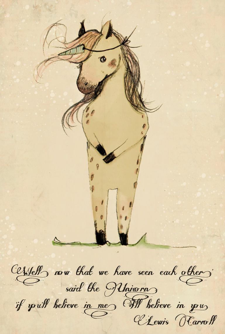 Unicorn wisdom #Free #Printable #VintyKids | Create Something ...