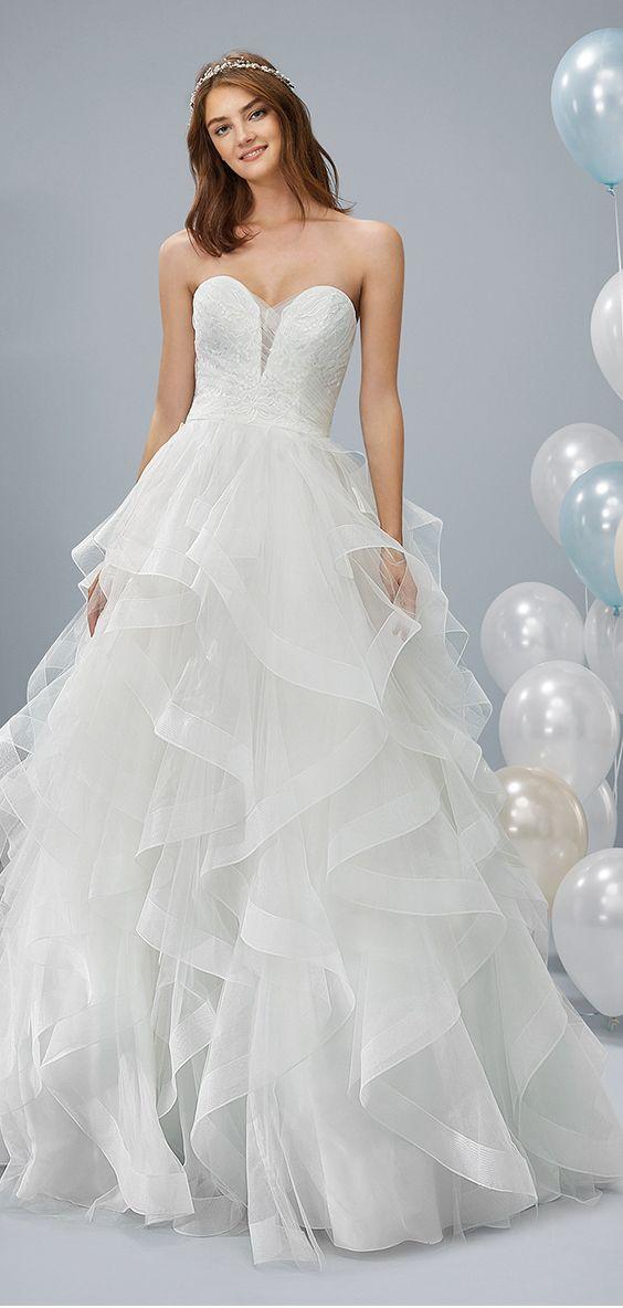 Brautkleid Odeon aus der neuen Kollektion 2019 von White ...
