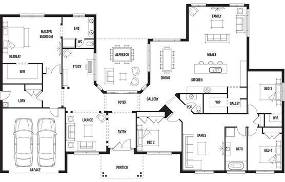 Peachy House Design Hillside Porter Davis Homes This Is For Me Home Interior And Landscaping Eliaenasavecom