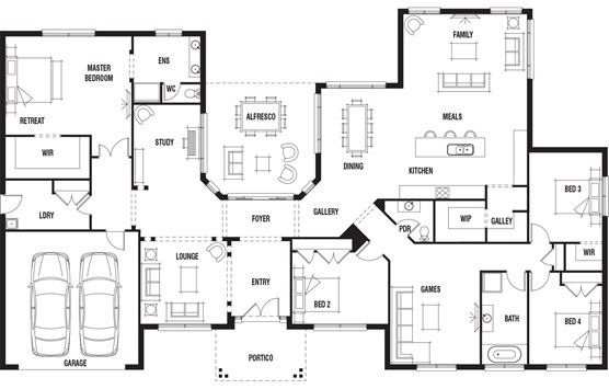 Swell House Design Hillside Porter Davis Homes This Is For Me Download Free Architecture Designs Jebrpmadebymaigaardcom