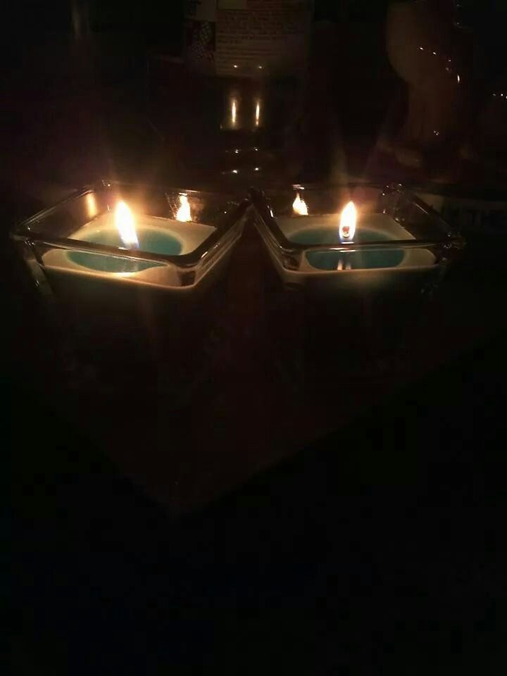 Just candles