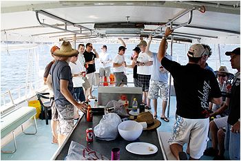 Perth Bbq Cruise Bucks Party Ideas In