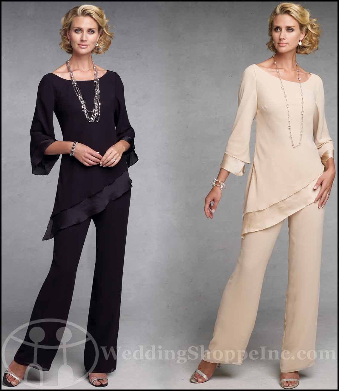 Mother of the Bride Pant Suits at Wedding Shoppe, Inc. | Wedding ...