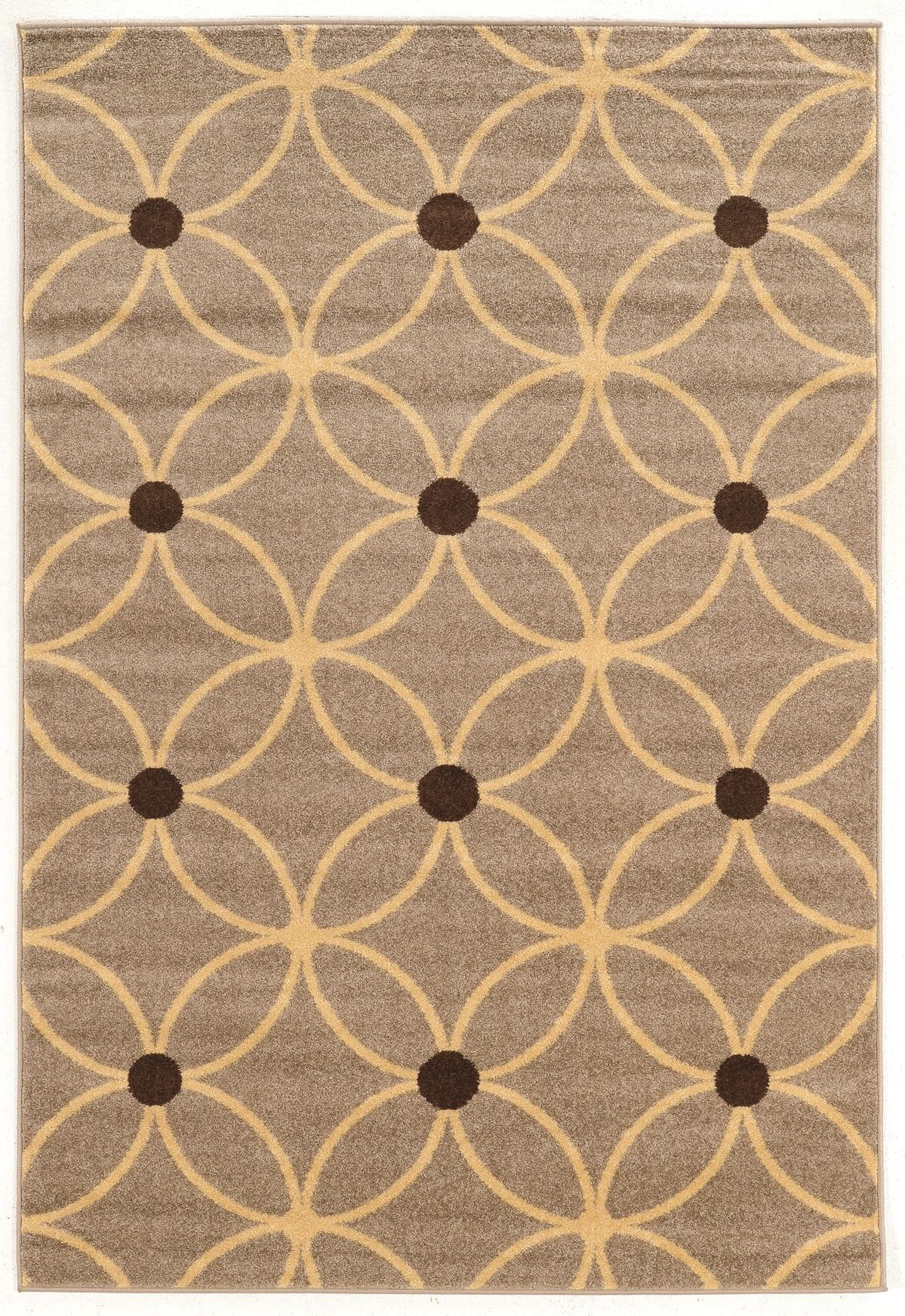 Cylinder Color Beige Brown Size 5 X 7 Geometric Rug Beige Area Rugs Rugs