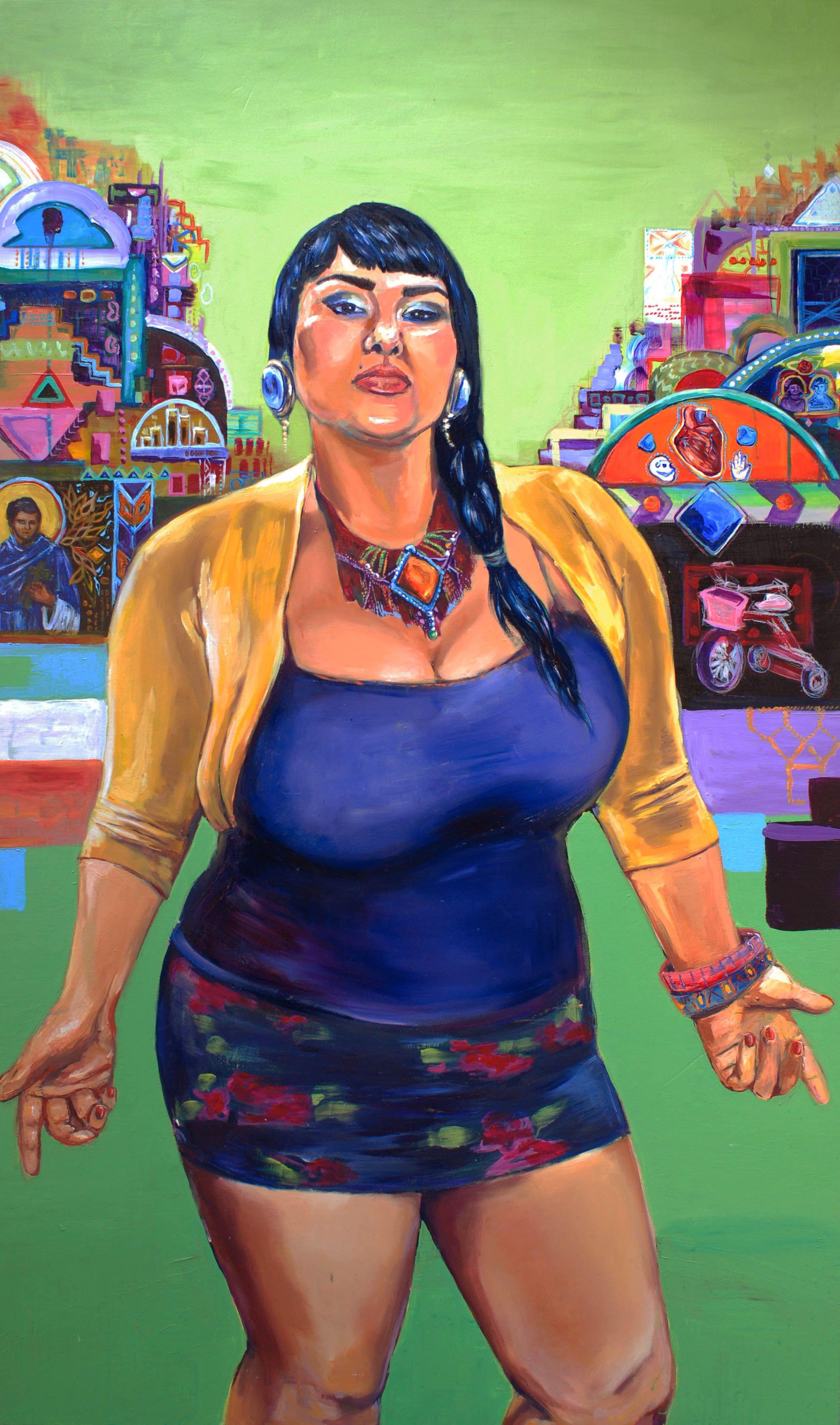 'Latino Heritage Exhibition' Artist Crystal Galindo