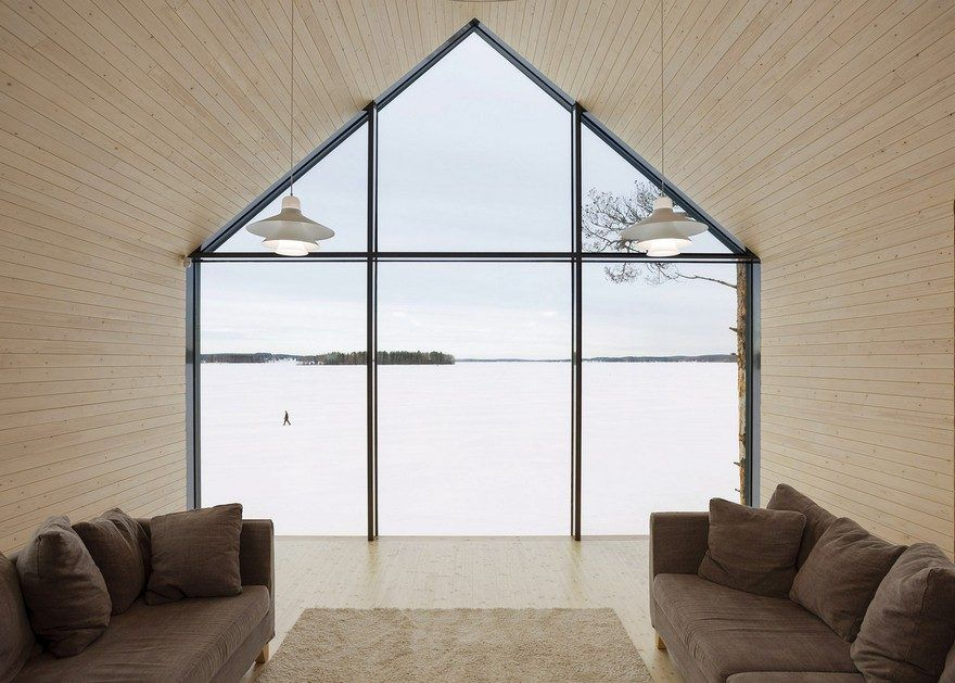 This Modern Finnish House Consists of Three