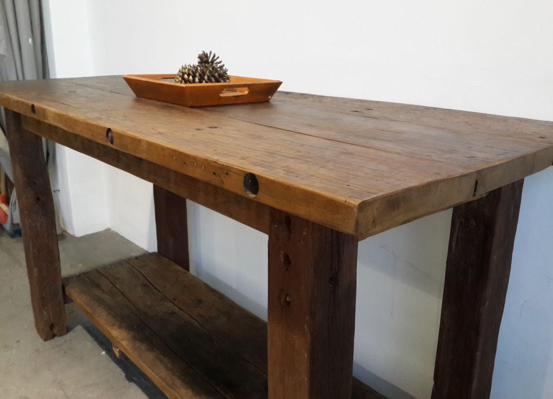 Emejing Mesas De Cocina Antiguas De Madera Gallery - Casa & Diseño ...