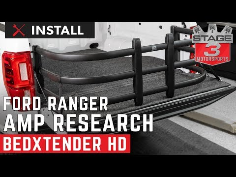 2019 Ranger Standard Bed AMP Research BEDXTENDER HD