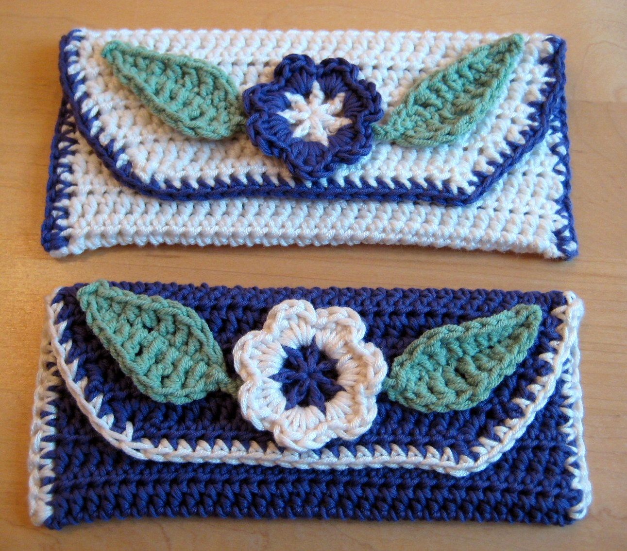 Crochet Clutch Bag & Purse Free Patterns Instructions