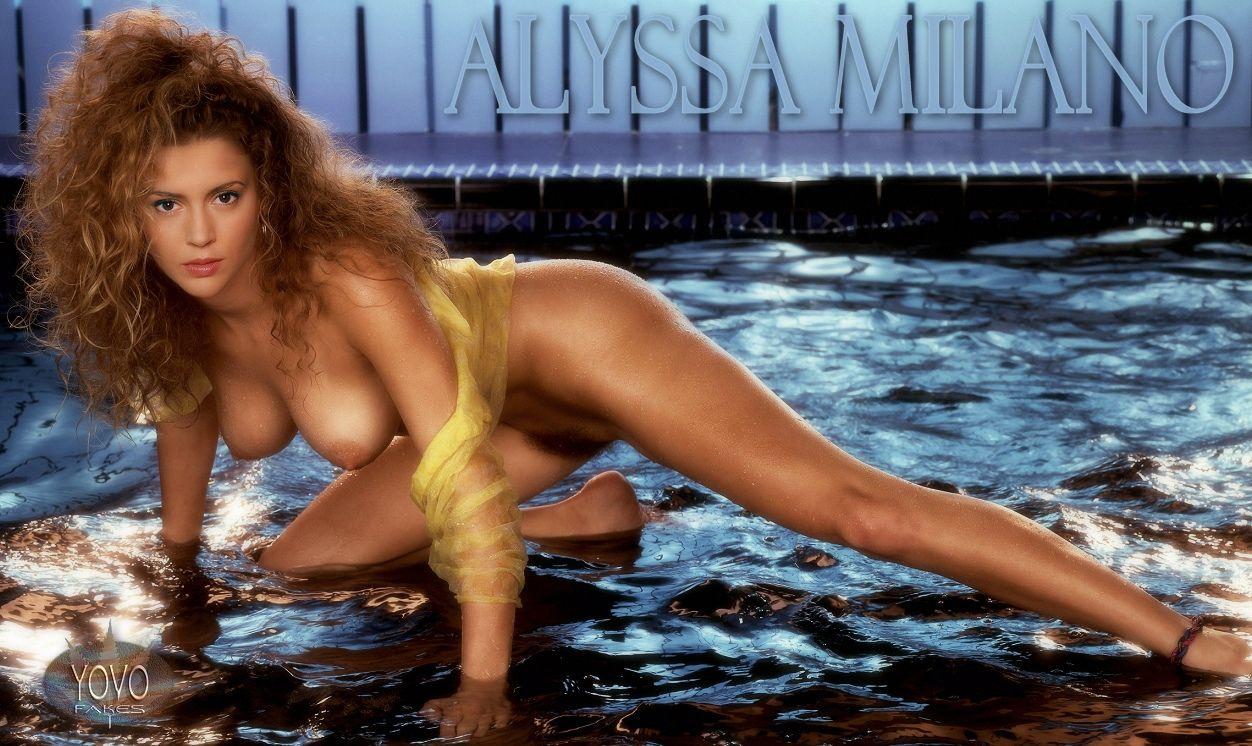 Alissa milano nackt Bilder
